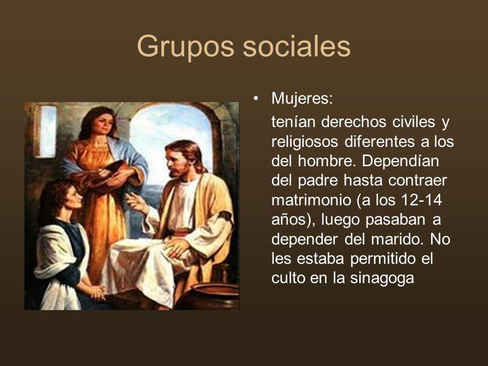 Grupos sociales Mujeres: