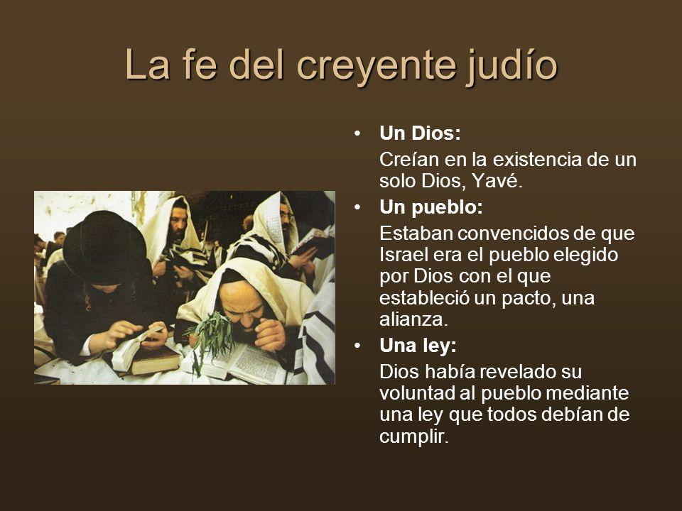 La fe del creyente judío
