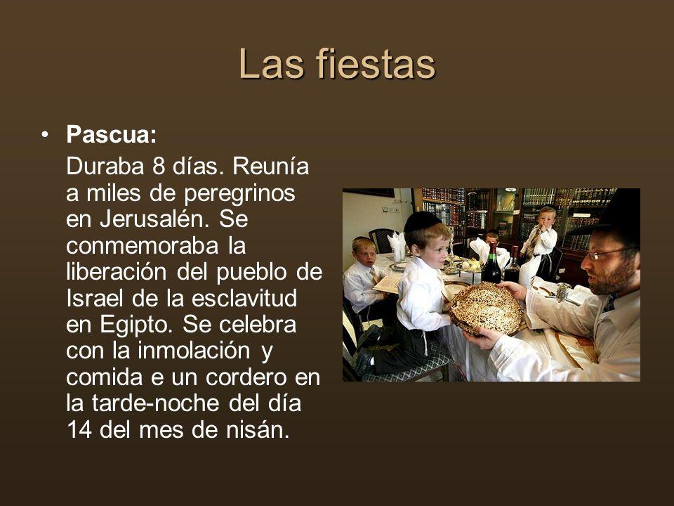 Las fiestas Pascua: