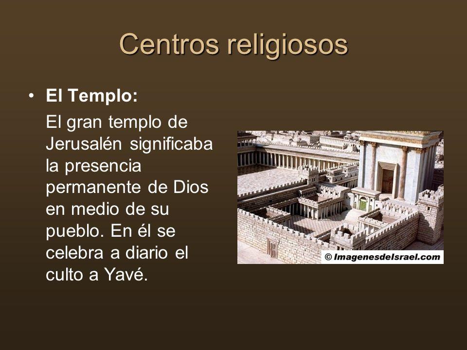 Centros religiosos El Templo: