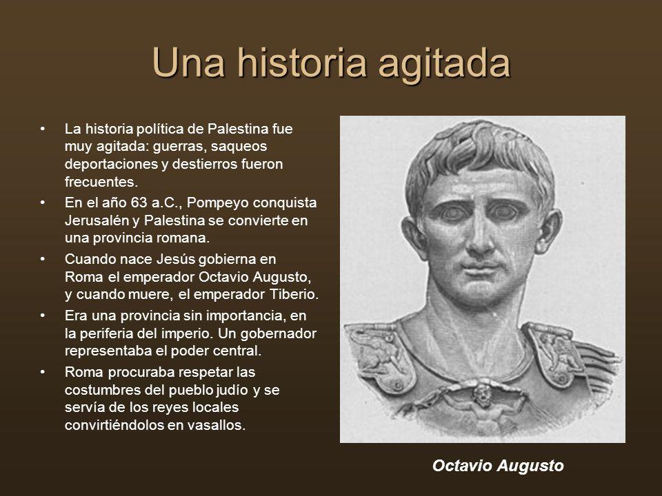 Una historia agitada Octavio Augusto