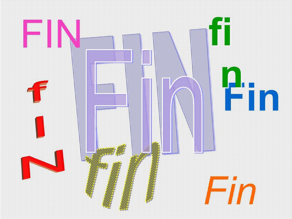 fin FIN FIN Fin Fin Fin fIN fin