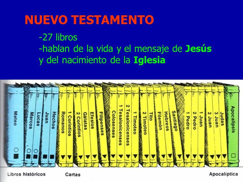 NUEVO TESTAMENTO 27 libros