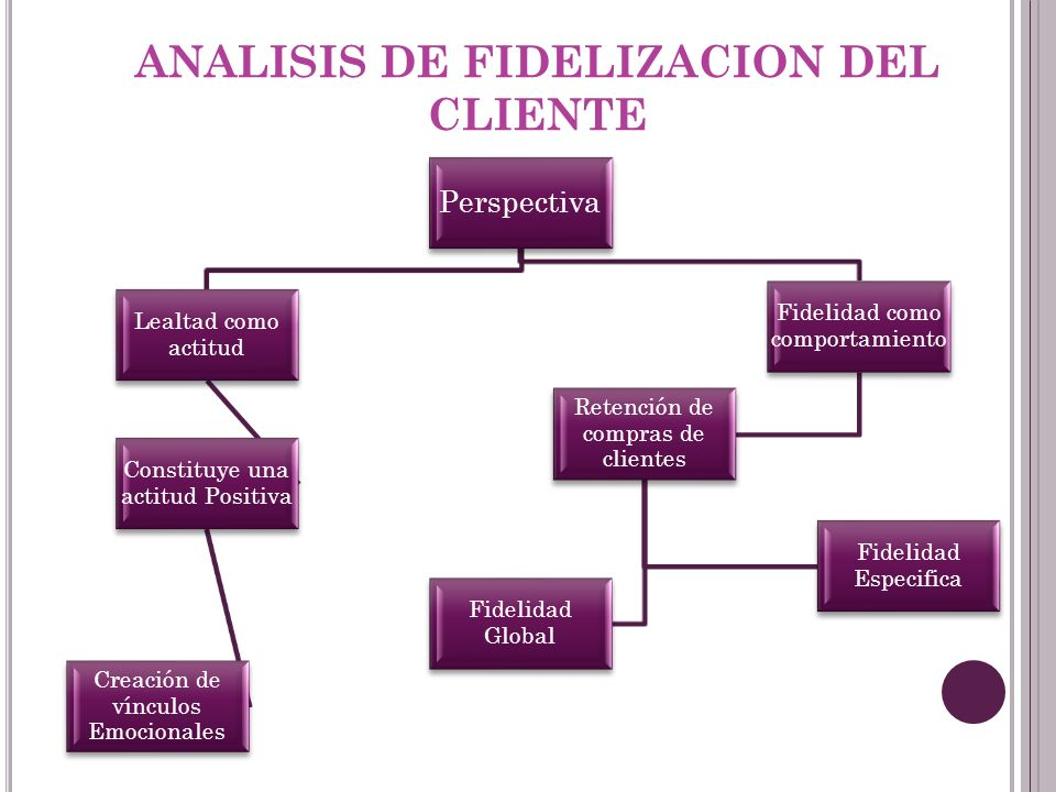 ANALISIS DE FIDELIZACION DEL CLIENTE