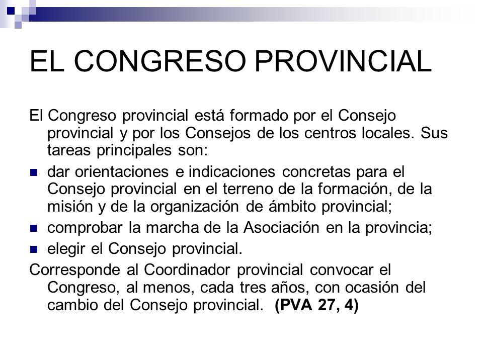 EL CONGRESO PROVINCIAL