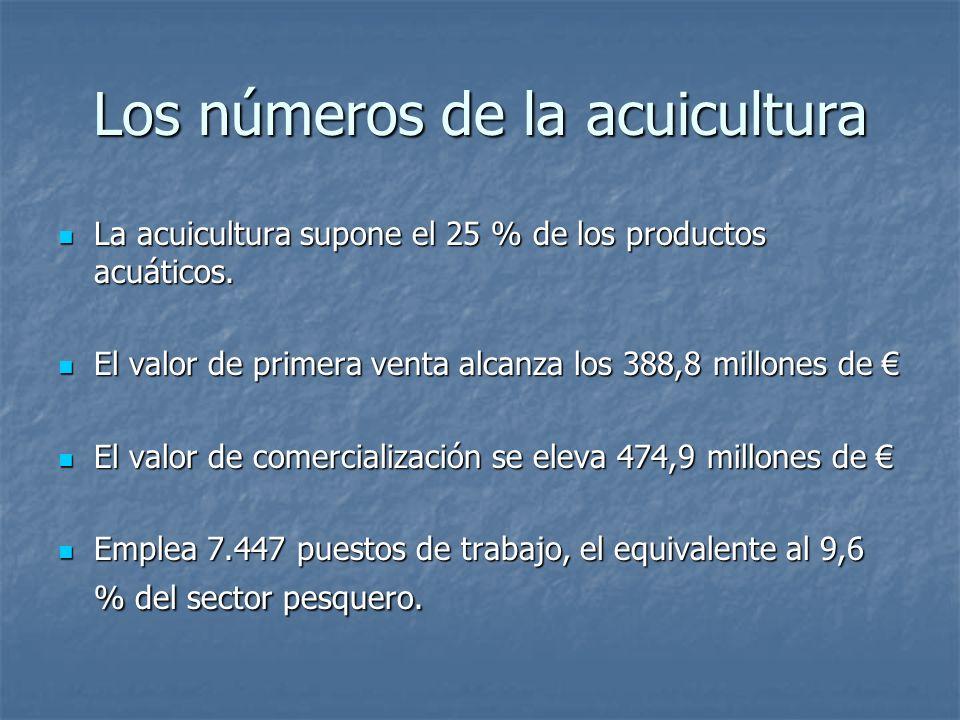 Los números de la acuicultura