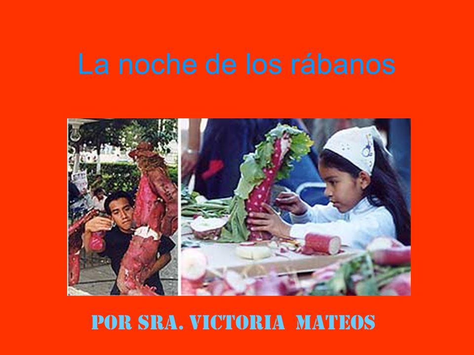Por Sra. Victoria Mateos