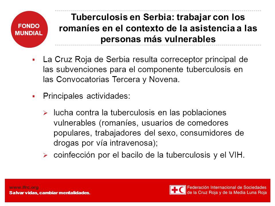 Tuberculosis en Serbia: trabajar con los romaníes en el contexto de la asistencia a las personas más vulnerables