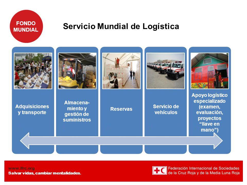 Almacena-miento y gestión de suministros Adquisiciones y transporte