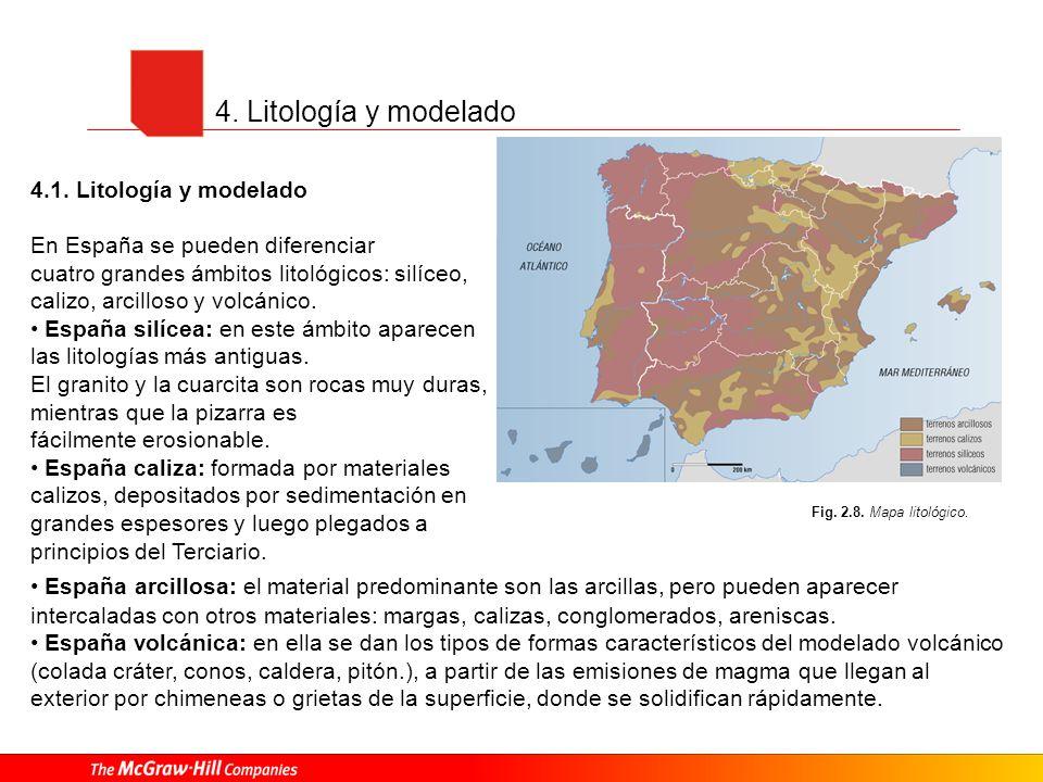 4. Litología y modelado 4.1. Litología y modelado