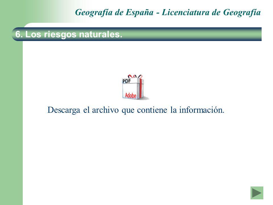 Descarga el archivo que contiene la información.