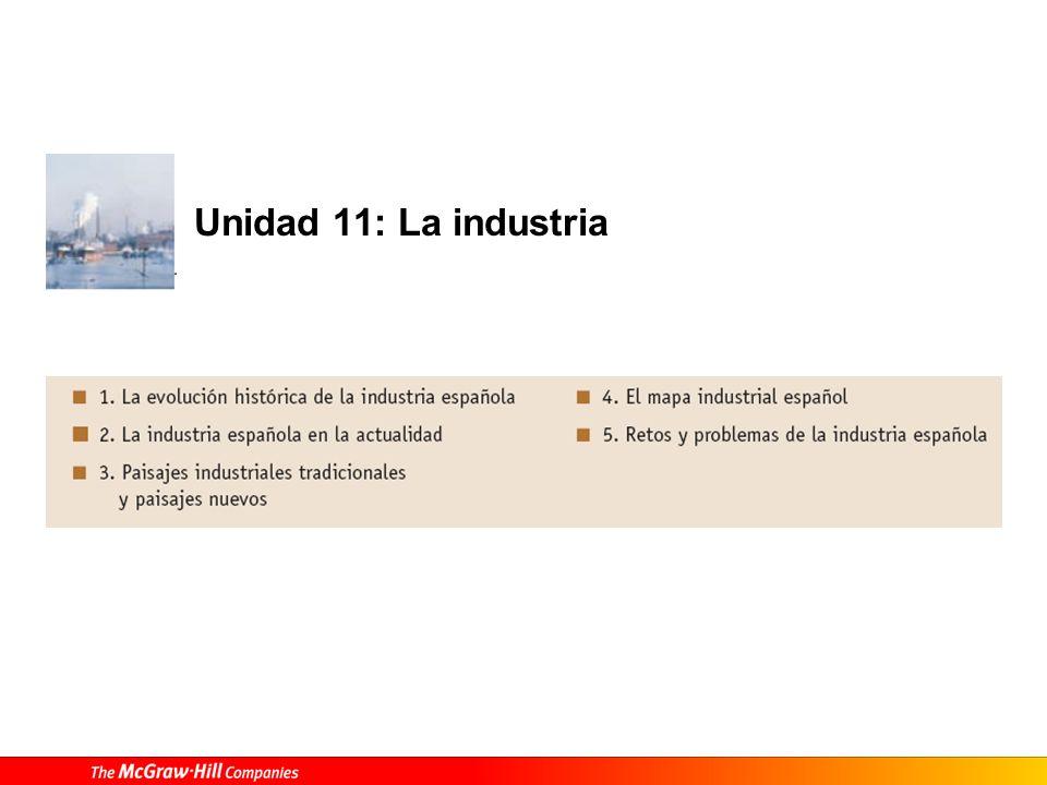 Unidad 11: La industria