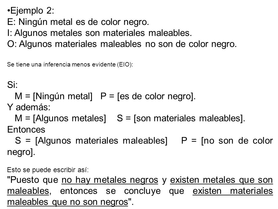 E: Ningún metal es de color negro.
