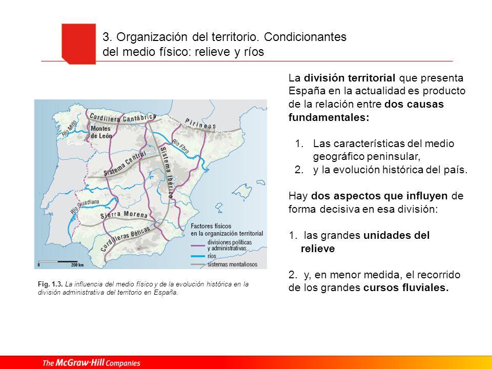 3. Organización del territorio