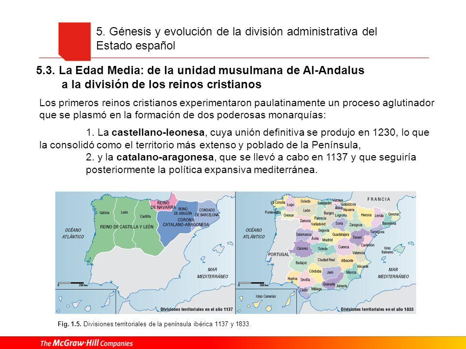 5.3. La Edad Media: de la unidad musulmana de Al-Andalus