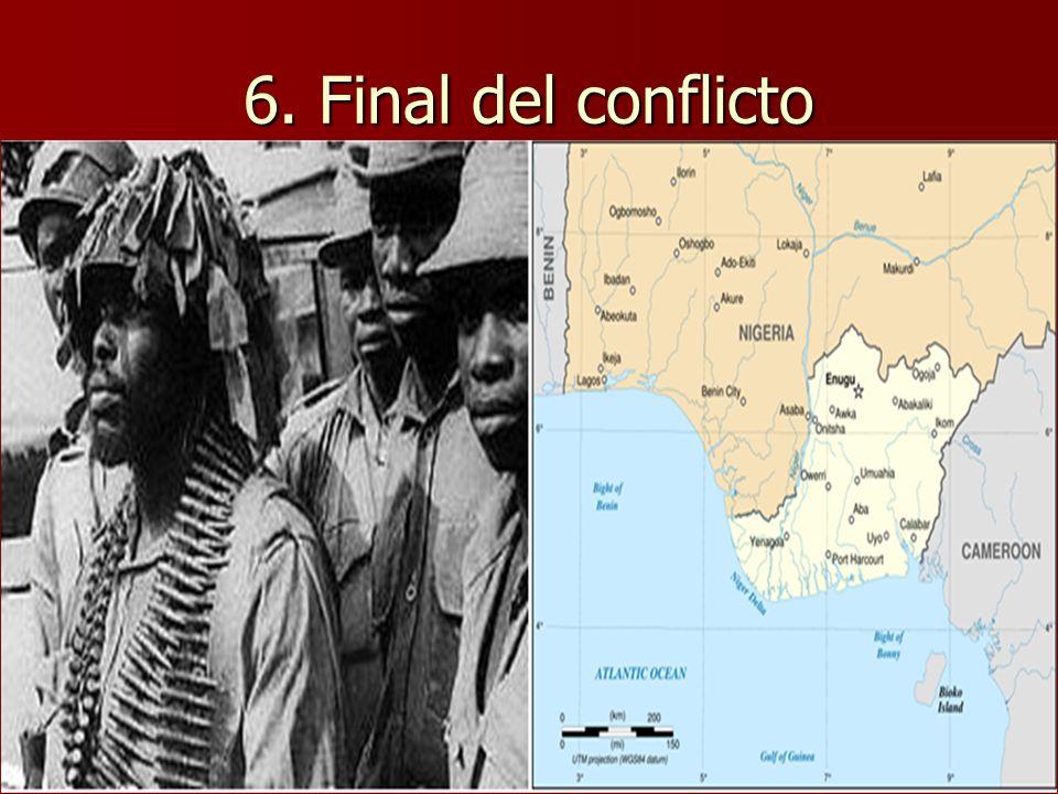 6. Final del conflicto