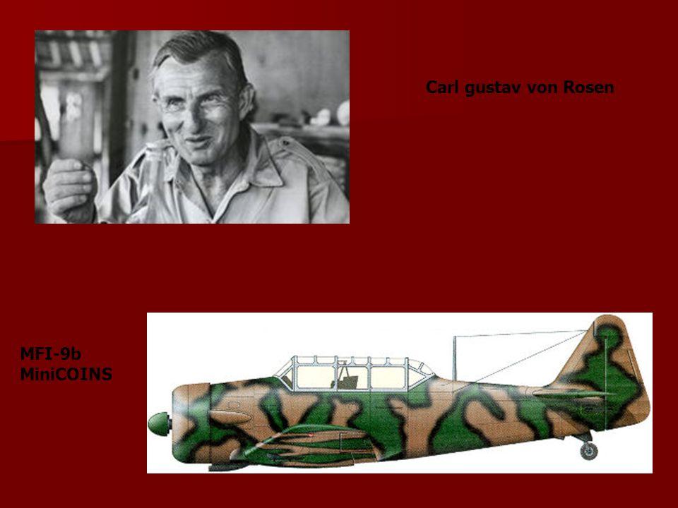 Carl gustav von Rosen MFI-9b MiniCOINS