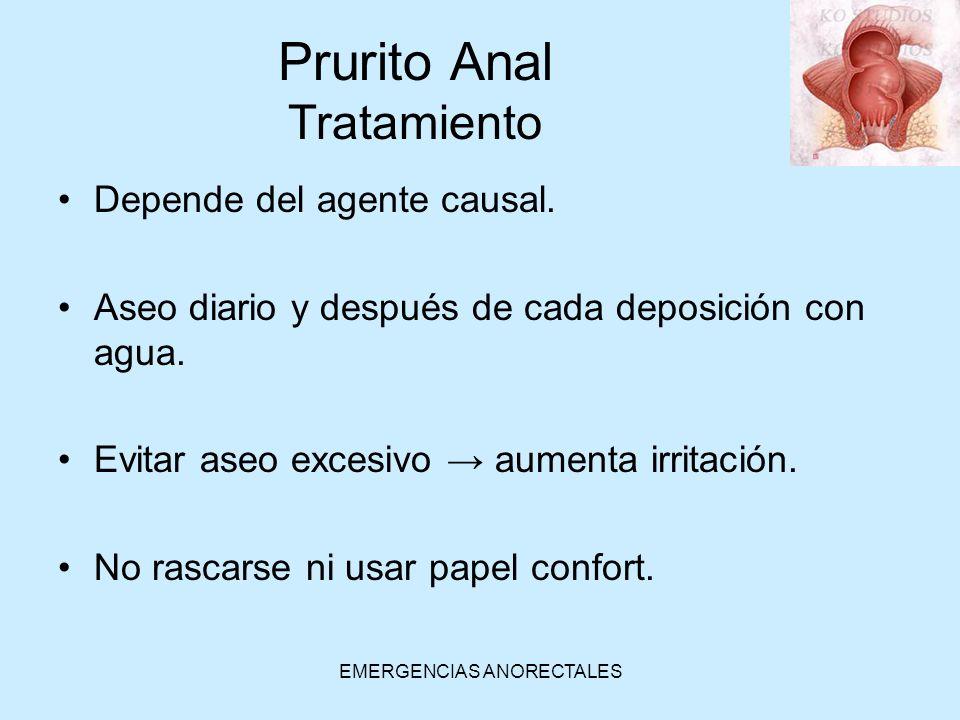 Prurito Anal Tratamiento