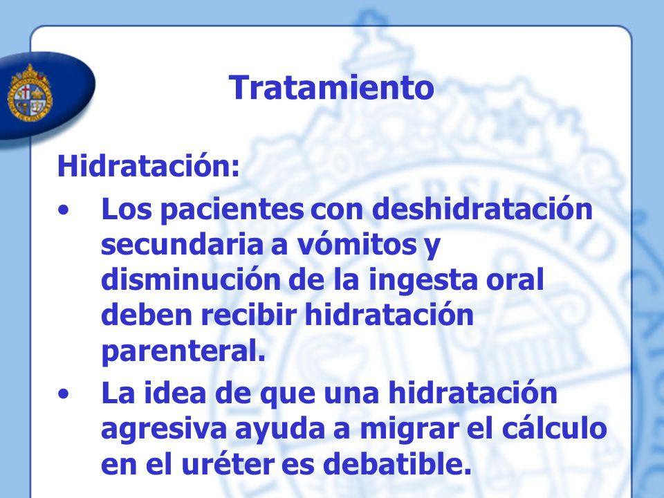 Tratamiento Hidratación: