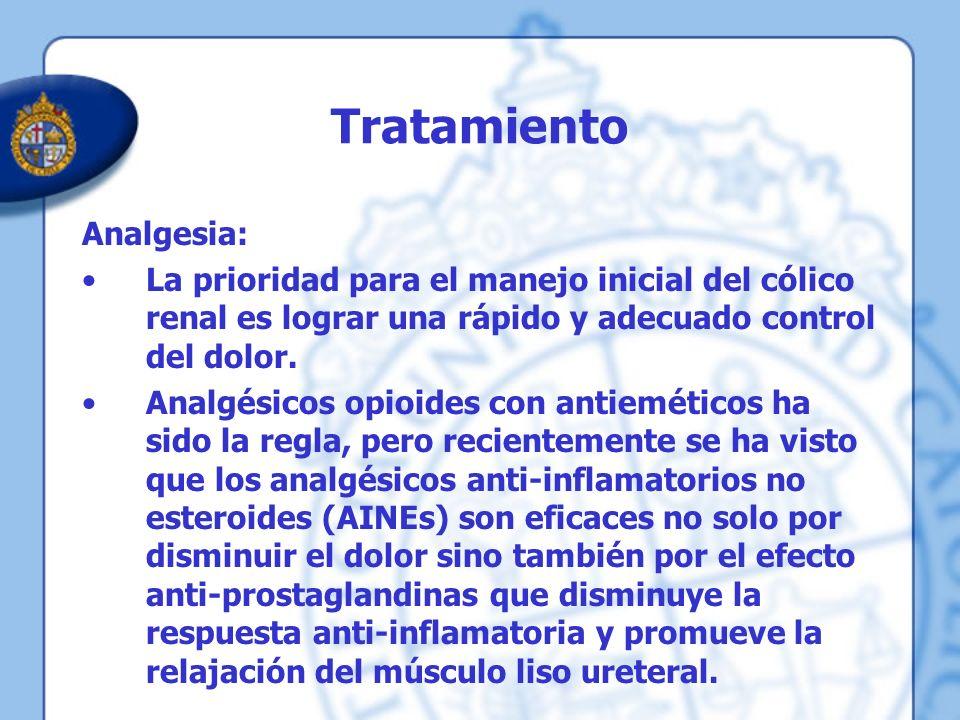 Tratamiento Analgesia: