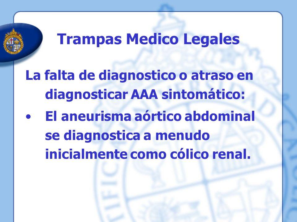 Trampas Medico Legales