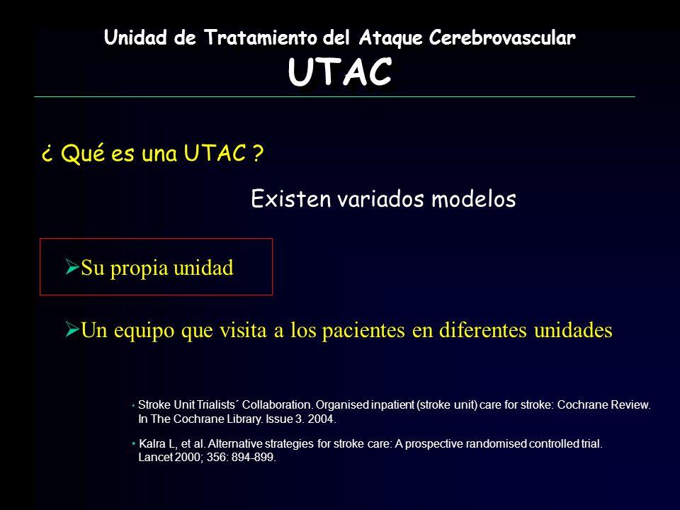 Unidad de Tratamiento del Ataque Cerebrovascular