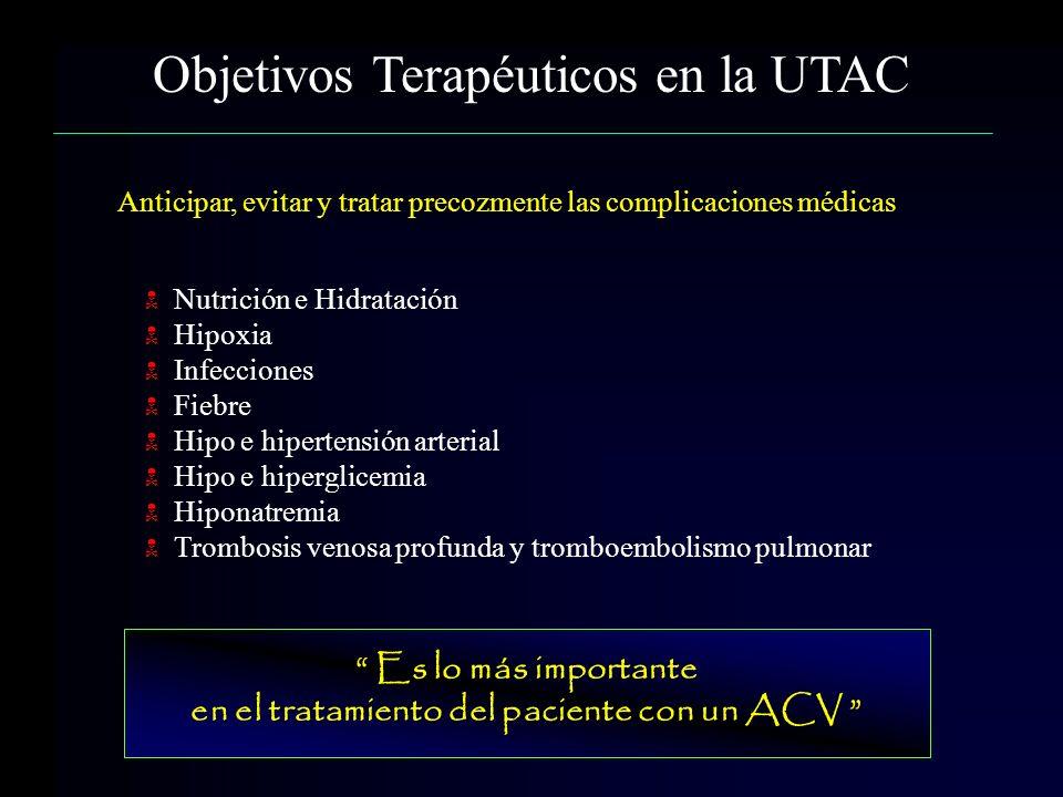 en el tratamiento del paciente con un ACV