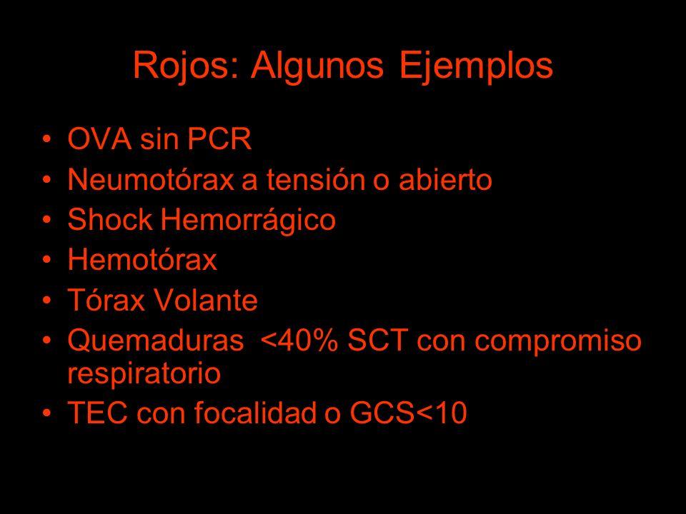 Rojos: Algunos Ejemplos