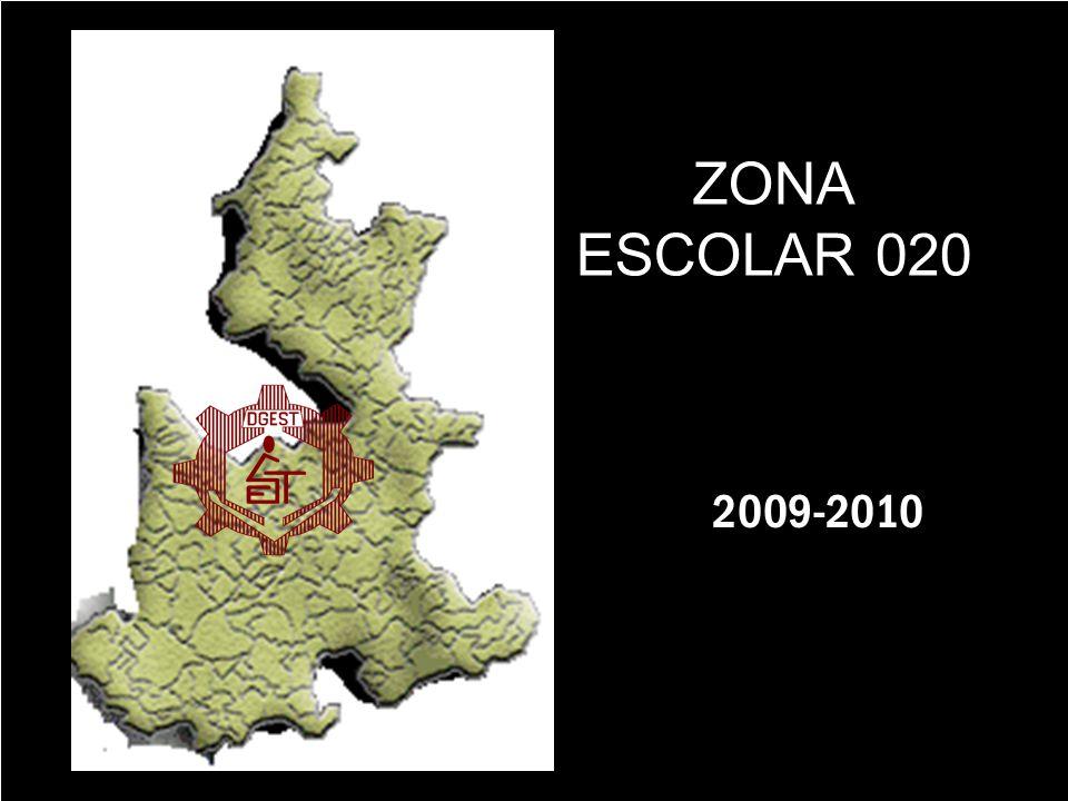 ZONA ESCOLAR 020 2009-2010