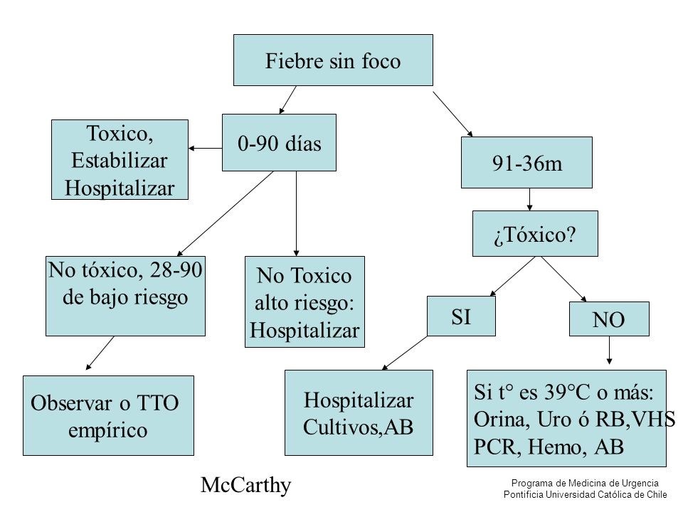 Orina, Uro ó RB,VHS PCR, Hemo, AB Observar o TTO empírico