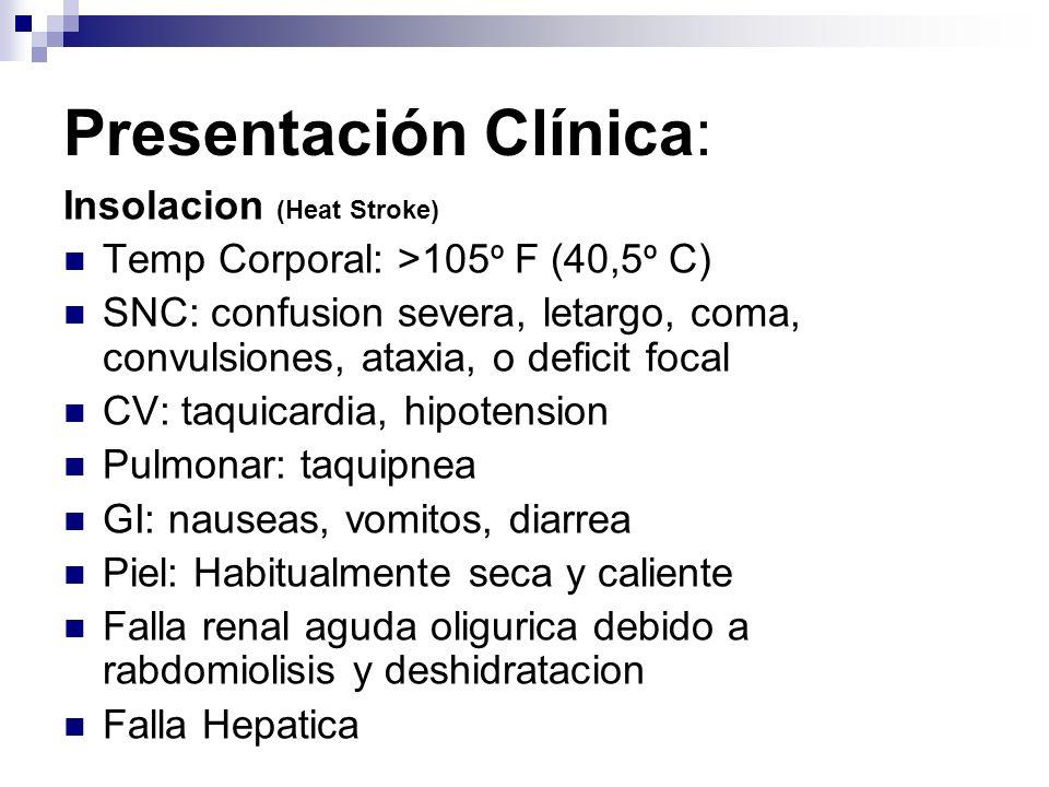 Presentación Clínica: