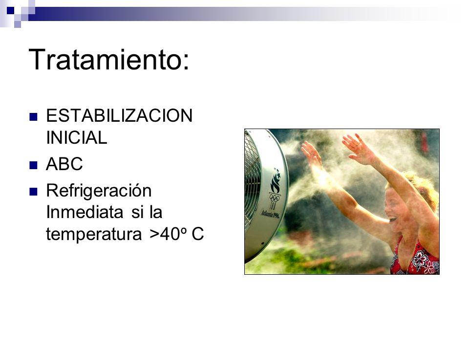 Tratamiento: ESTABILIZACION INICIAL ABC