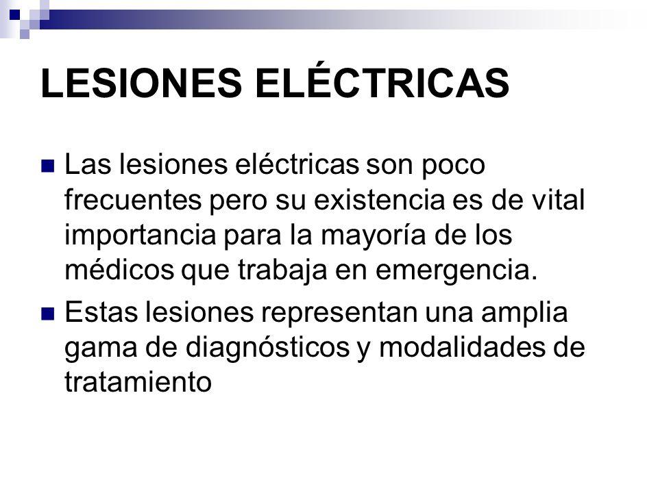 LESIONES ELÉCTRICAS
