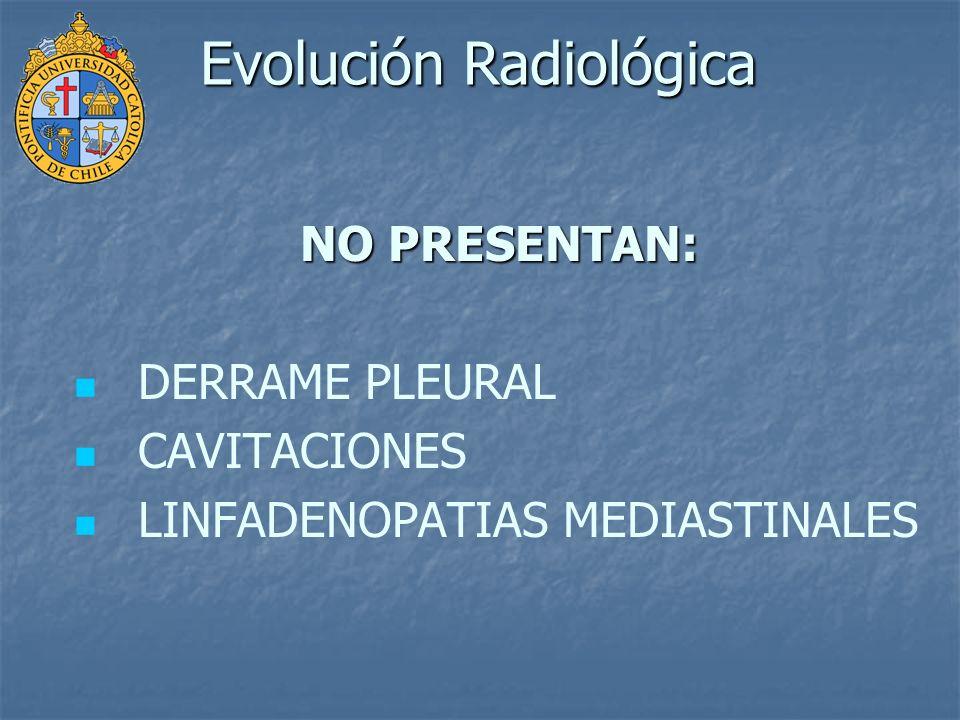 Evolución Radiológica