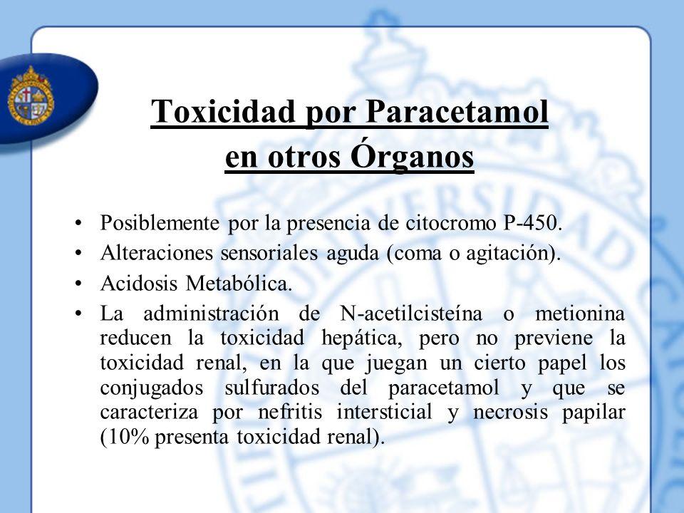 Toxicidad por Paracetamol