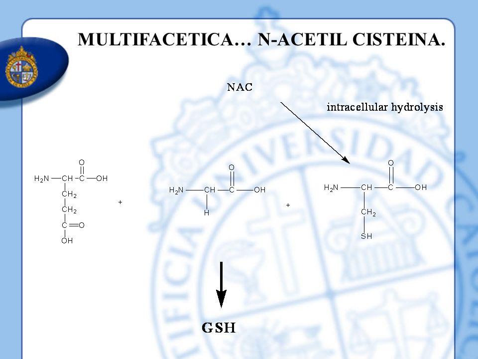 MULTIFACETICA… N-ACETIL CISTEINA.