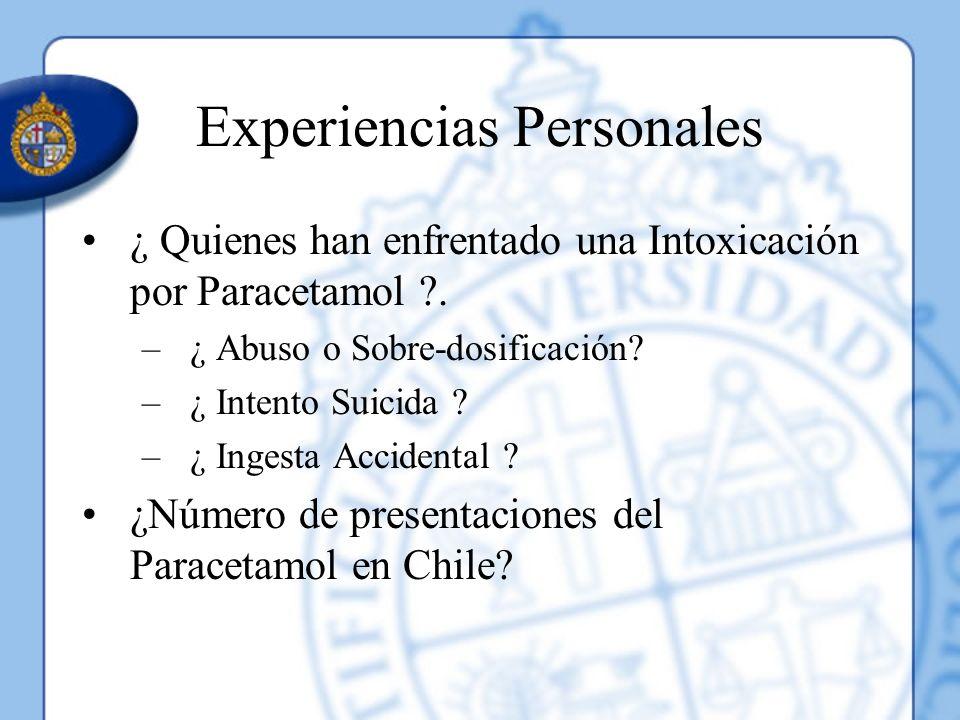 Experiencias Personales