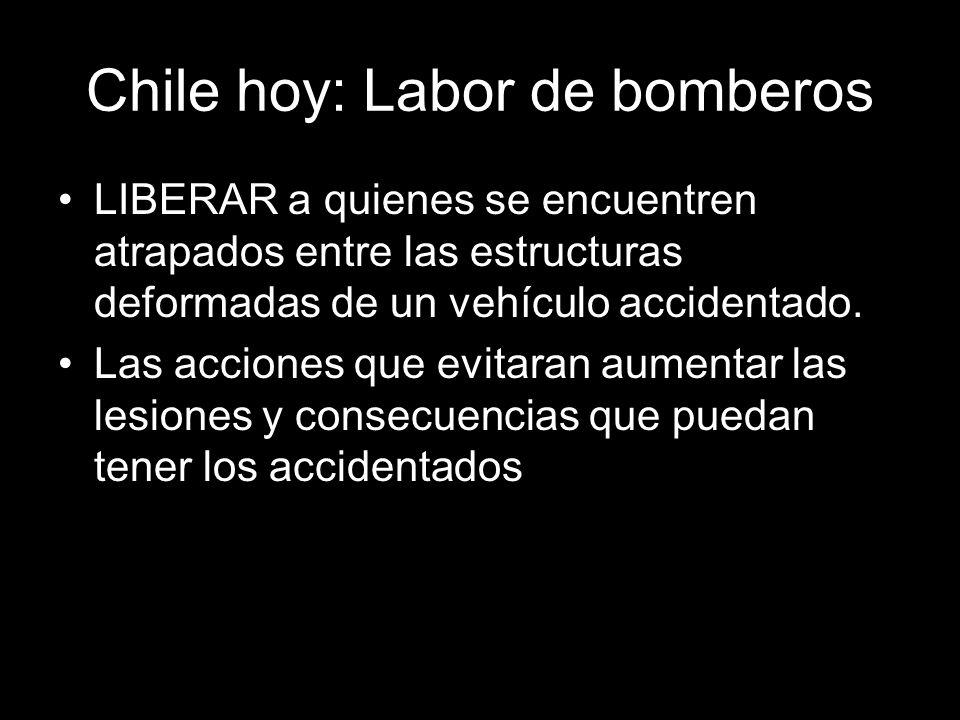 Chile hoy: Labor de bomberos