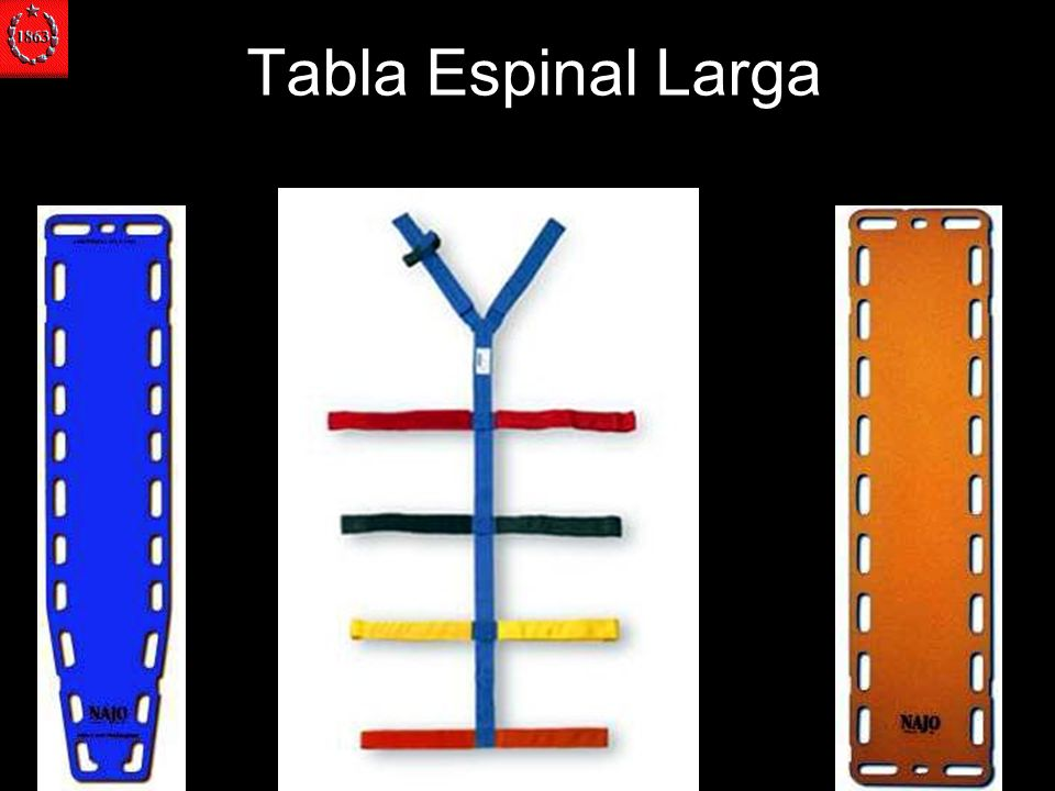 Tabla Espinal Larga