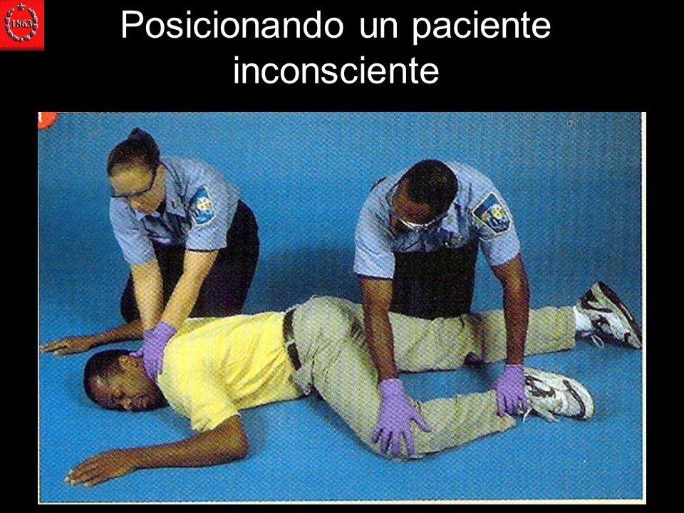 Posicionando un paciente inconsciente