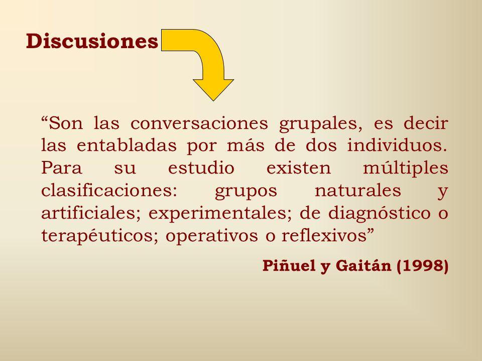 Discusiones