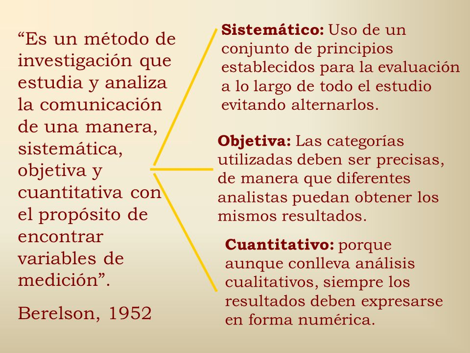 Sistemático: Uso de un conjunto de principios establecidos para la evaluación a lo largo de todo el estudio evitando alternarlos.
