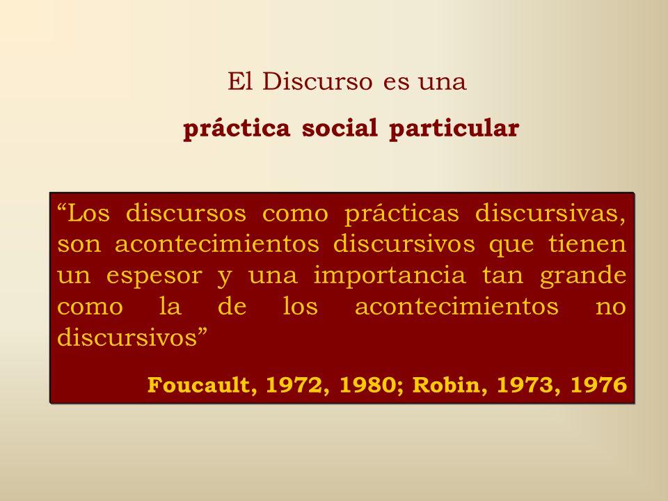 práctica social particular