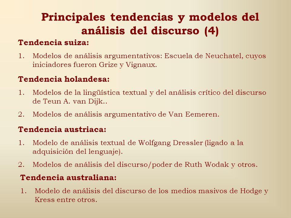 Principales tendencias y modelos del análisis del discurso (4)