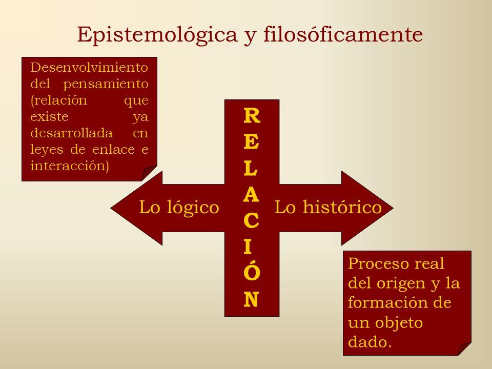 Epistemológica y filosóficamente