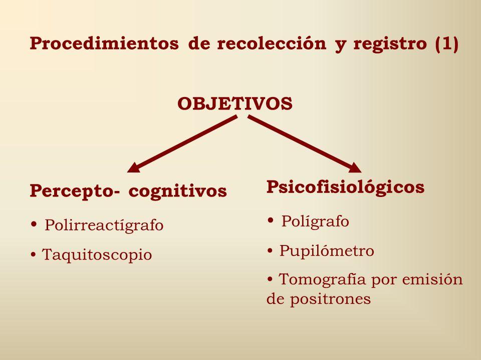 Procedimientos de recolección y registro (1)