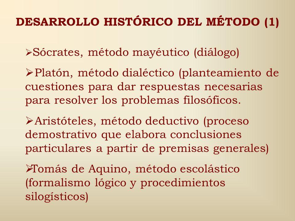 DESARROLLO HISTÓRICO DEL MÉTODO (1)