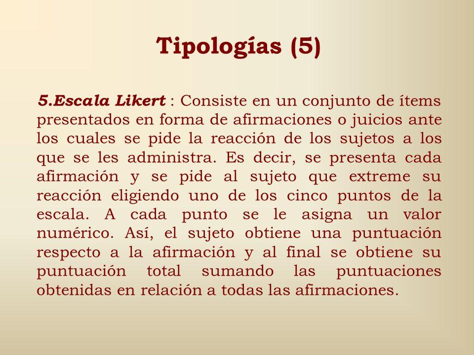 Tipologías (5)