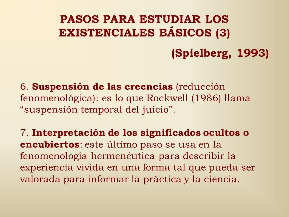 PASOS PARA ESTUDIAR LOS EXISTENCIALES BÁSICOS (3)