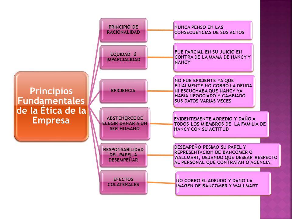 PRINCIPIO DE RACIONALIDAD